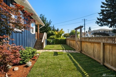 Seattle Single Family Home For Sale: 3206 61st Ave SW