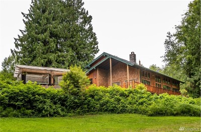 Burlington Single Family Home For Sale: 3857 3857 Old Hwy 99 N Rd
