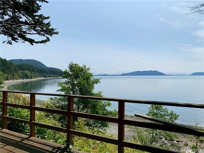 Lummi Island Single Family Home For Sale: 3879 Legoe Bay Rd