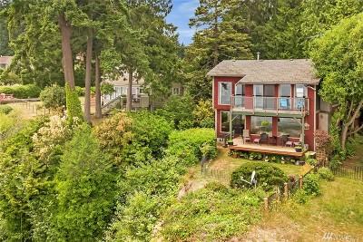 Bainbridge Island Single Family Home For Sale: 10567 Sunrise Bluff Lane NE