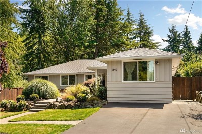 Shoreline Single Family Home For Sale: 1849 N 199th St