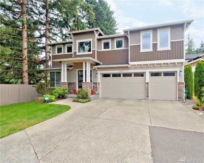 Woodinville Single Family Home For Sale: 18619 136th Ave NE