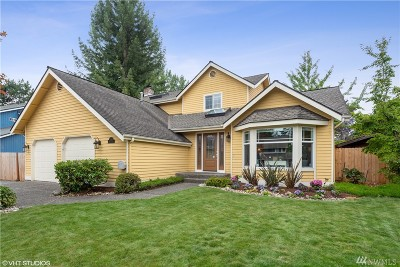 Redmond Single Family Home For Sale: 11669 132nd Ct NE