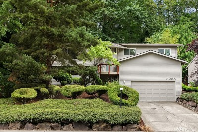 Bellevue WA Single Family Home For Sale: $985,000
