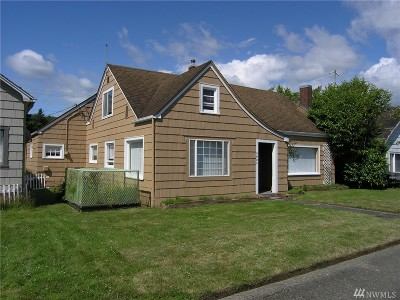 Grays Harbor County Single Family Home For Sale: 3021 Simpson Ave