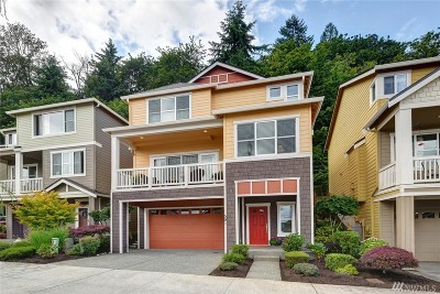 Issaquah Single Family Home For Sale: 591 Mountain View Lane NW