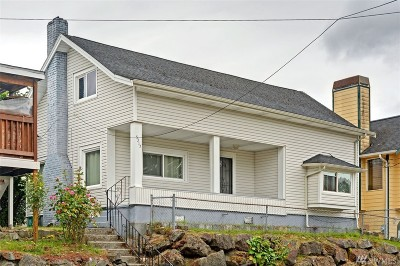 Seattle Single Family Home For Sale: 5317 S Roxbury St