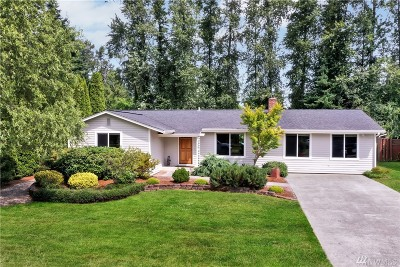 Marysville Single Family Home For Sale: 5229 143rd Place NE