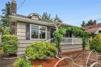 Seattle Single Family Home For Sale: 1508 NE 75th St