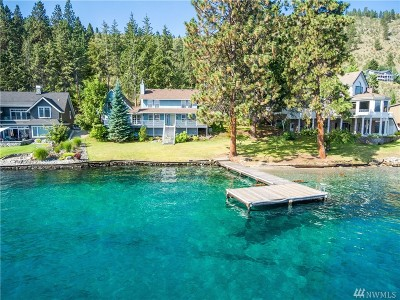 Chelan County Single Family Home For Sale: 3290 S Lakeshore Rd