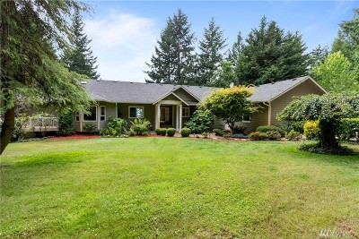 Pierce County Single Family Home For Sale: 18806 71st St Ct SW
