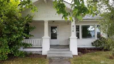 Centralia Single Family Home For Sale: 814 E St