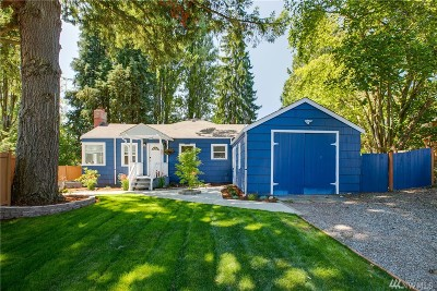 Shoreline Single Family Home For Sale: 20055 25th Ave NE