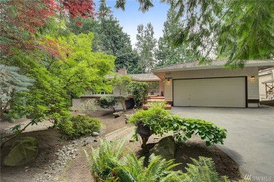 Sammamish Single Family Home For Sale: 21637 NE 24th St