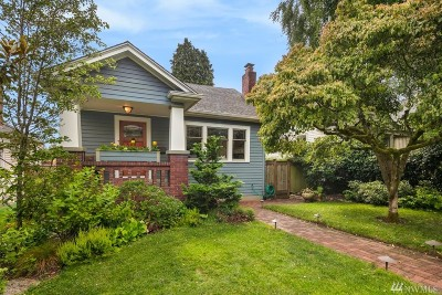 Seattle Single Family Home For Sale: 7534 18th Ave NE