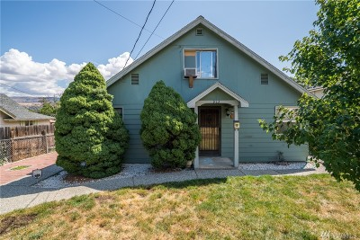 Wenatchee Single Family Home For Sale: 913 Cashmere St