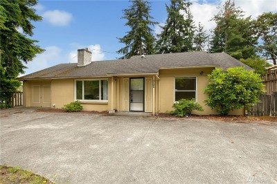 Shoreline Single Family Home For Sale: 1317 N 155th St