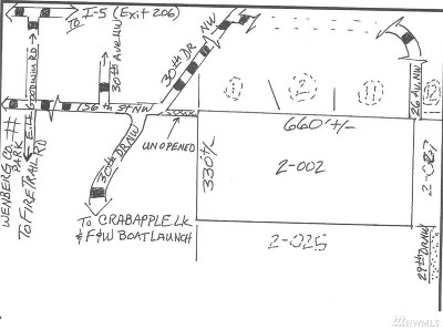 Stanwood Residential Lots & Land For Sale: 156th St NW