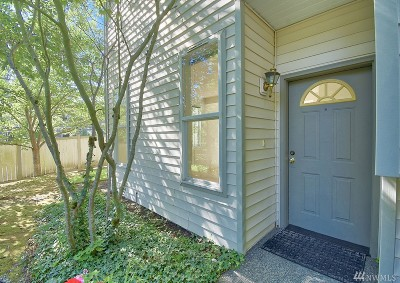 Snohomish County Condo/Townhouse For Sale: 16223 48th Ave W #D1