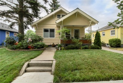 Tacoma Single Family Home For Sale: 4041 Fawcett Ave