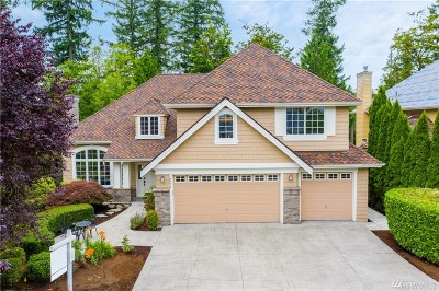 Sammamish Single Family Home For Sale: 4475 194th Wy NE