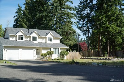 Puyallup Single Family Home For Sale: 8521 124th St Ct E