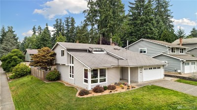 Kirkland Single Family Home For Sale: 12808 NE 109th Place