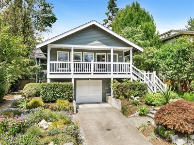 Seattle Single Family Home For Sale: 4036 NE 57th St