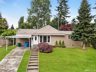 Shoreline Single Family Home For Sale: 16251 10th Ave NE