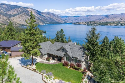 Chelan County Single Family Home For Sale: 7470 Navarre Dr