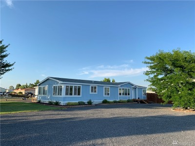 Moses Lake WA Single Family Home For Sale: $215,000