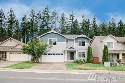 Port Orchard Single Family Home For Sale: 4584 Chanting Cir SW