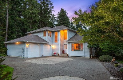 Pierce County Single Family Home For Sale: 2207 90th St Ct NW