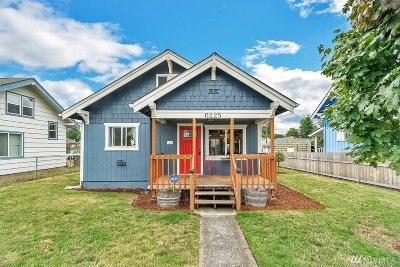 Tacoma Single Family Home For Sale: 6225 S Montgomery St