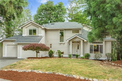 Issaquah Single Family Home For Sale: 1640 Pine View Dr NW