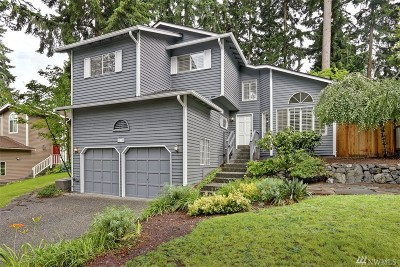 Kirkland Single Family Home For Sale: 11705 NE 106th Lane