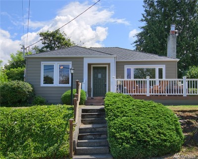 Seattle Single Family Home For Sale: 10038 42nd Ave SW