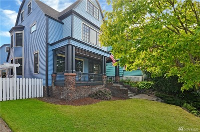 Tacoma Single Family Home For Sale: 714 N I St