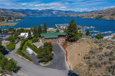 Chelan County Single Family Home For Sale: 105 Waterslide Dr