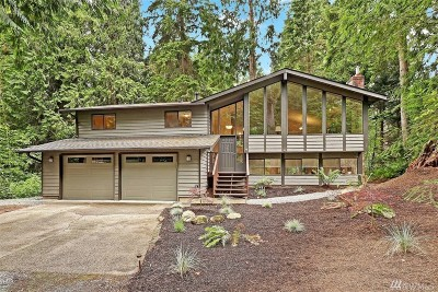 Woodinville Single Family Home For Sale: 17313 Mink Rd NE