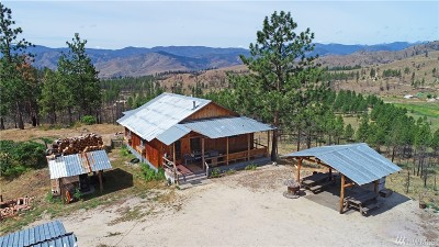 Methow Single Family Home For Sale: 284 French Creek Rd #D