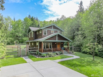 Stanwood Single Family Home For Sale: 20730 Frank Waters Rd