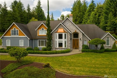 Snohomish Single Family Home For Sale: 20112 Pipeline Rd
