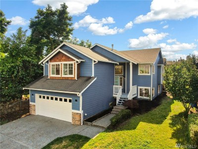 Shoreline Single Family Home For Sale: 17309 Ashworth Ave N