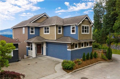 Issaquah Single Family Home For Sale: 572 Mountain View Lane NW