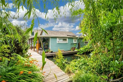 Seattle Single Family Home For Sale: 3146 Portage Bay Place E #P