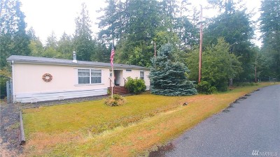 Mason County Single Family Home Pending: 241 E McLane Dr