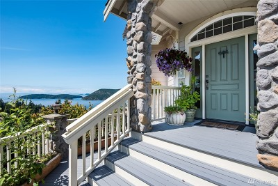 Anacortes Single Family Home For Sale: 4113 Ellisport Place