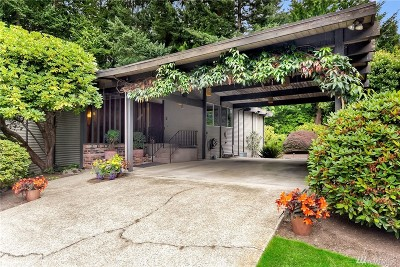 Bellevue Single Family Home For Sale: 14408 NE 14th Place