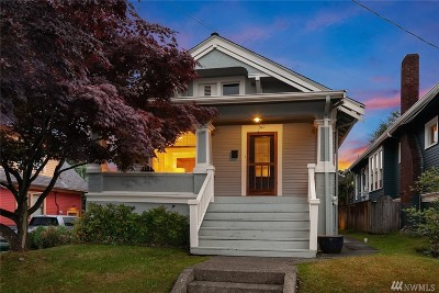 Seattle Single Family Home For Sale: 311 NE 60th St